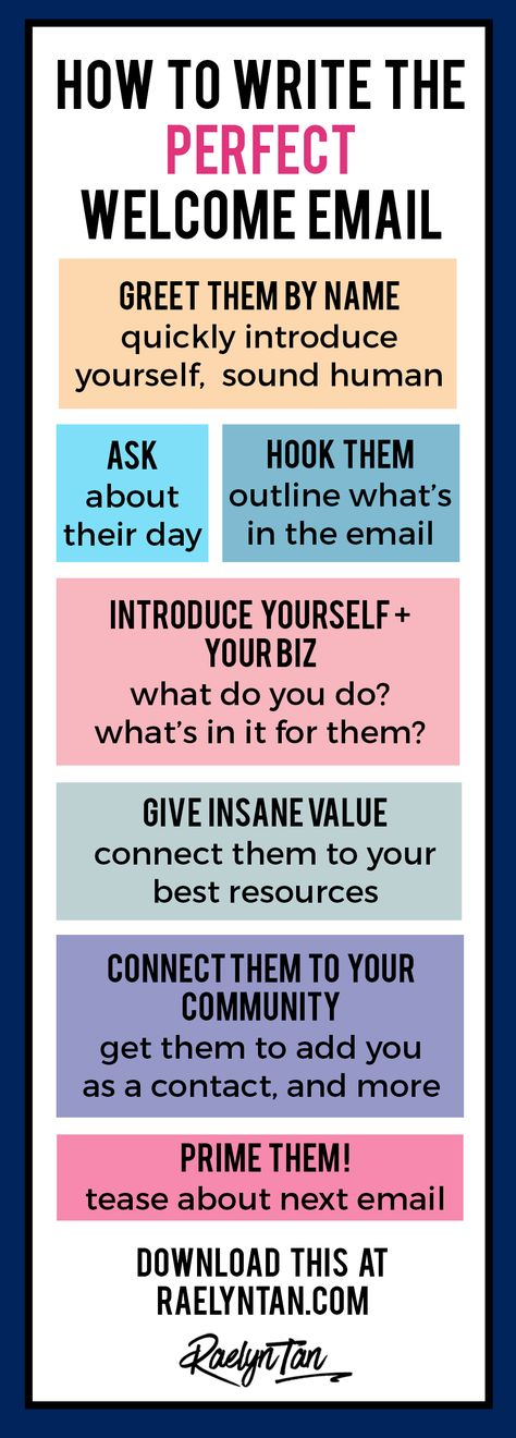 How to Write the Perfect Welcome Email (Printable Template Included!)