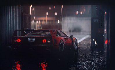 Dodge Challenger Hellcat Smoke Muscle Car Blue Wallpaper 6596x4031 Hd Image Picture 2c97c458 Ferrari F40 Ferrari Wallpaper Red Car