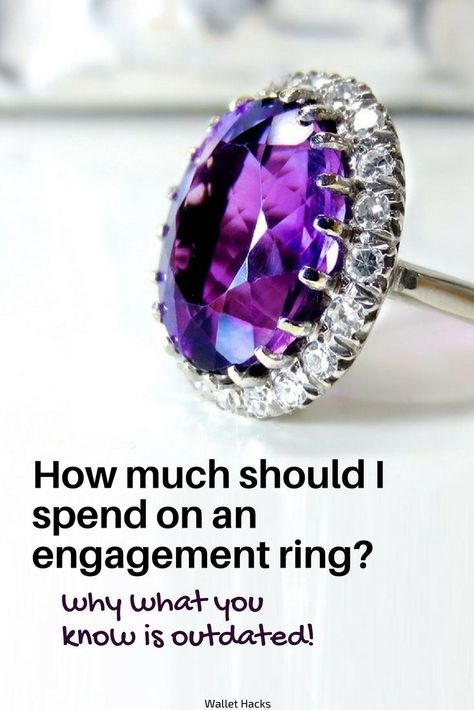 812cba4b356 Find out why the old rules are rubbish and how much you should really be  spending on a diamond engagement ring.