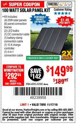 100 Watt Solar Panel Kit Solar Energy Solutions Solar Energy Solar Energy Kits