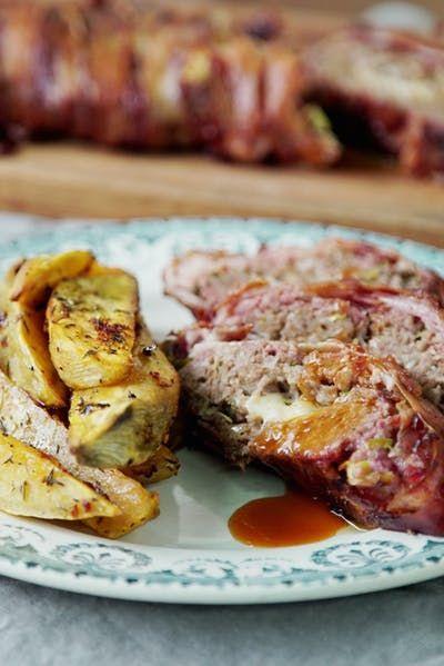 Pastel De Carne De Cerdo Y Res Recipe Food Bacon Breakfast