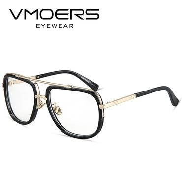 VMOERS Square Eyeglass Frames Men Luxury Brand Fake Glasses Frame Male  Optical Myopia Eyegla… | Eyeglass frames for men, Eyewear frames, Eyeglasses  frames for women