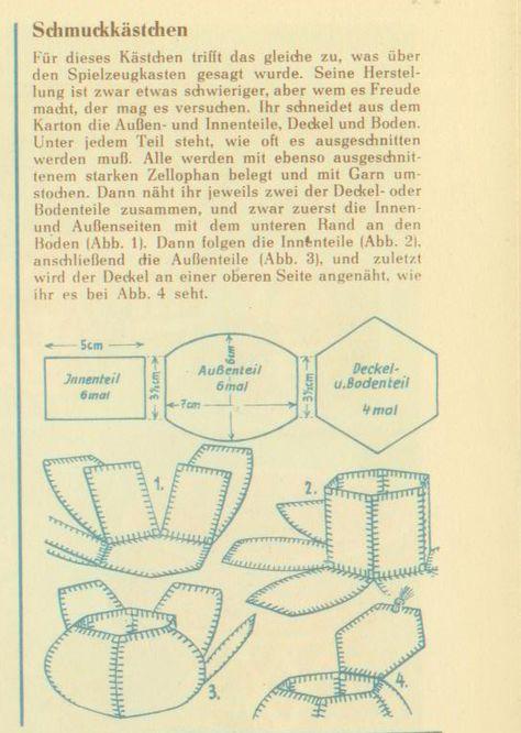Выкройка шкатулки из старых открыток, октября день уголовного