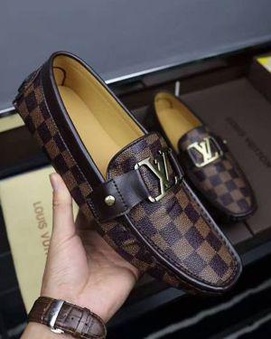 Classic Leather Louis Vuitton Shoes Men S Loafers Sneaker Lv Shoe