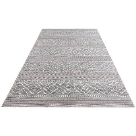 Rhone Flatweave Grey Indoor Outdoor Rug
