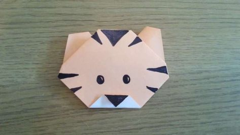 Icon set of coloured origami animals, with origami leopard ... | 266x473