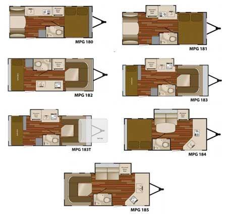 Designs For Teardrop Campers Heartland Mpg Travel Trailer Interior Floorplans Small Picture Pinterest