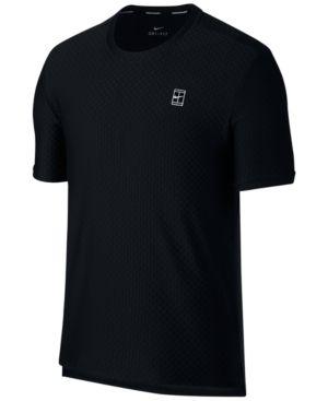 Nike Men's NikeCourt Dri-Fit Tennis T-Shirt - Black 2XL