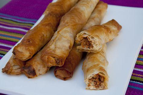 Zigarrenbörek <3 Cigarette Börek <3 http://www.vivalasvegans.de/zigarrenboerek.htm