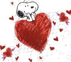 Snoopy with heart