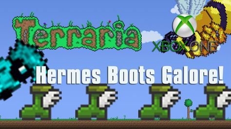 Terraria Xbox One Let S Play Hermes Boot Galore 27 Xbox One Lets Play Hermes Boots