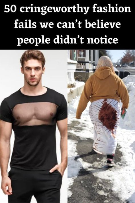 50 cringeworthy fashion fails we can't believe people didn't notice
