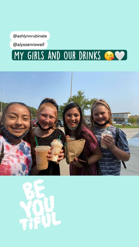 My girls and our drinks 😘�