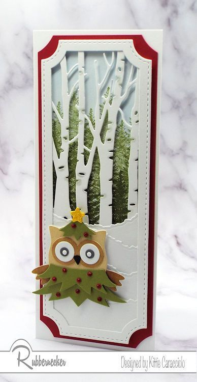 How Many Christmas Cards Will Be Sent In 2020 Super Cute Owl Christmas Cards! | Kittie Kraft in 2020 | Owl