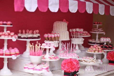Hello Kitty Themed Birthday Party. A Dessert Table That Would Make A Little Girls Dreams Come True!