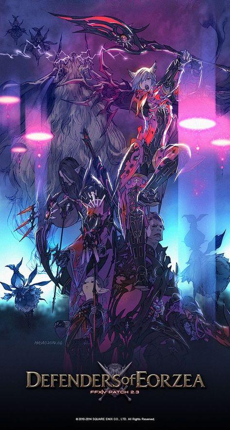 Wallpaper Hd Final Fantasy Xiv A Realm Reborn Finalfantasyxiv