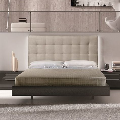 J M Furniture Beja Platform Bed Beige Products Mobel Modern