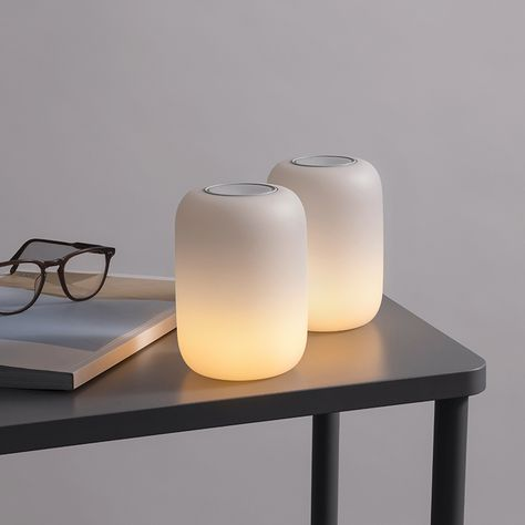 Get the Glow Light, from Casper. Lighting designed with sleep in mind. Bathe in the warm, self-dimming glow that ushers in a night of deeper sleep. Do It Yourself Home, Bedroom Lighting, My New Room, Candle Making, Scented Candles, Decoration, How To Fall Asleep, Lighting Design, Lighting Ideas