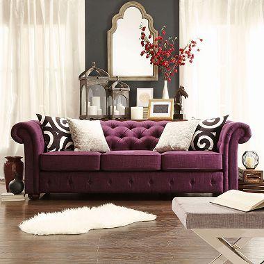 Kyle Tufted Linen Sofa Choose Color Sam S Club Home Decor Chic Sofa Home