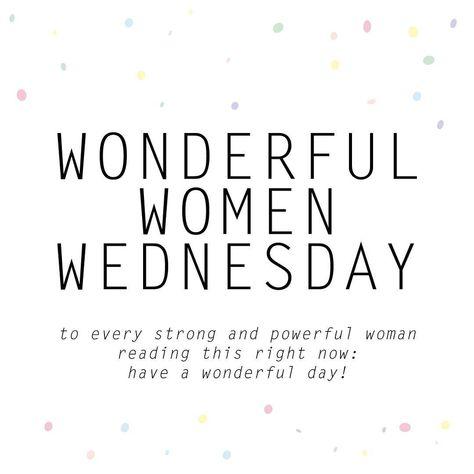 Wonderful women wednesday - please credit or tag kaartmetmuisjes