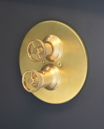Acme 3 4 Concealed Thermostatic Shower Valve Scuffed Brass