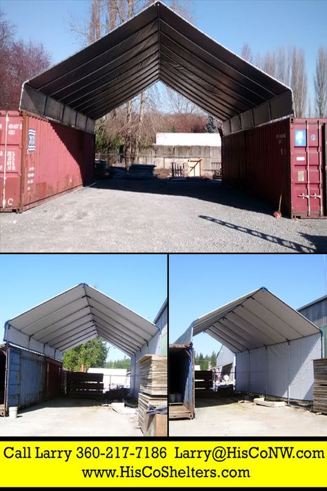 All Weather-Shield Shelter Cargo Shipping Container CoverSave - combien coute une maison en autoconstruction