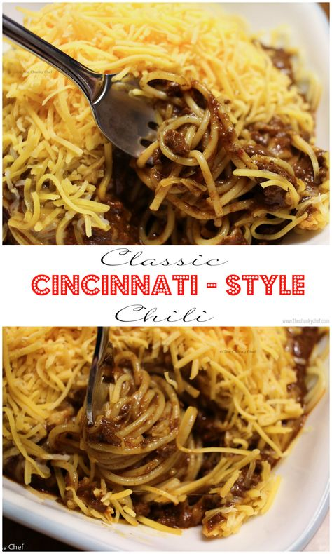 Cincinnati Style Chili - Unique Cincinnati-Style chili that you can make at home, for a fraction of the price of the seasoning packets or cans!