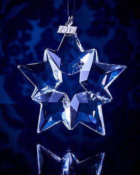 Swarovski Christmas Ornament 2021 Swarovski Annual Ornament 2019 In 2021 Swarovski Christmas Ornaments Christmas Ornaments Swarovski Christmas