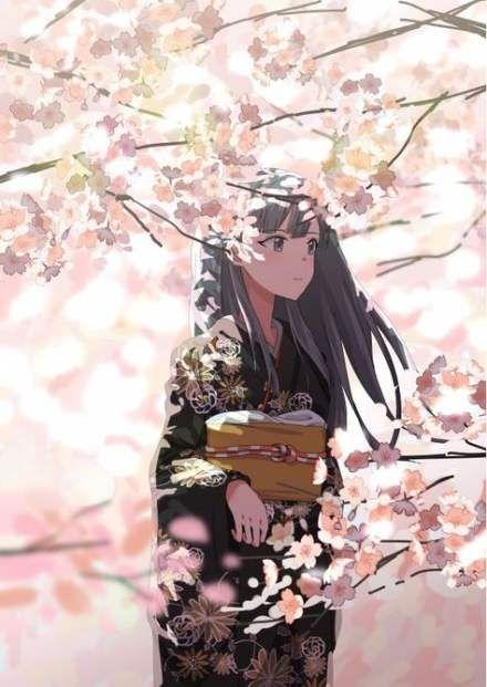Best Tree Illustration Art Anime Girls 17 Ideas Sakura Tree Tree Drawing Tree Sketches