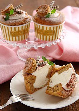 ケーキ カップ シフォン