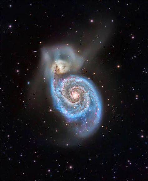many galaxies | Types of galaxies, Galaxies, Hubble deep field