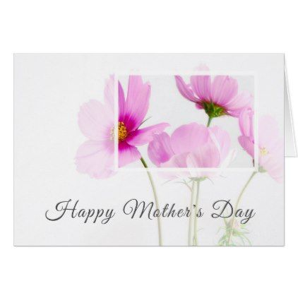 Modern Floral Personalized Happy Mother S Day Card Zazzle Com