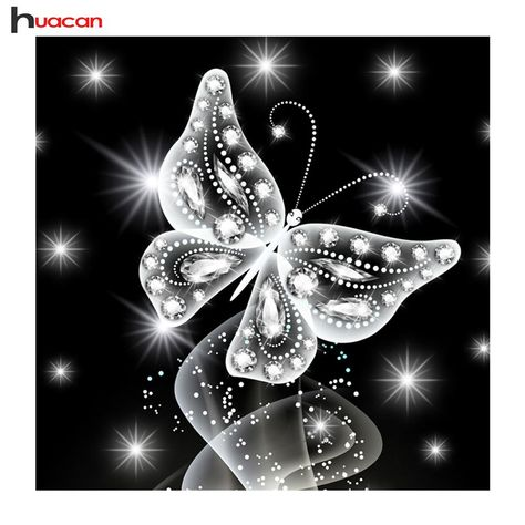 Huacan 5D DIY Diamond Painting Butterfly Full Square Mosaic Diamond Embroidery Animals Cross Stitch Rhinestones Craft Kit. Yesterday's price: US $6.00 (5.32 EUR). Today's price (December 12, 2018): US $3.96 (3.54 EUR). Discount: 34%. #Arts #Crafts #Sewing #mosaic #full