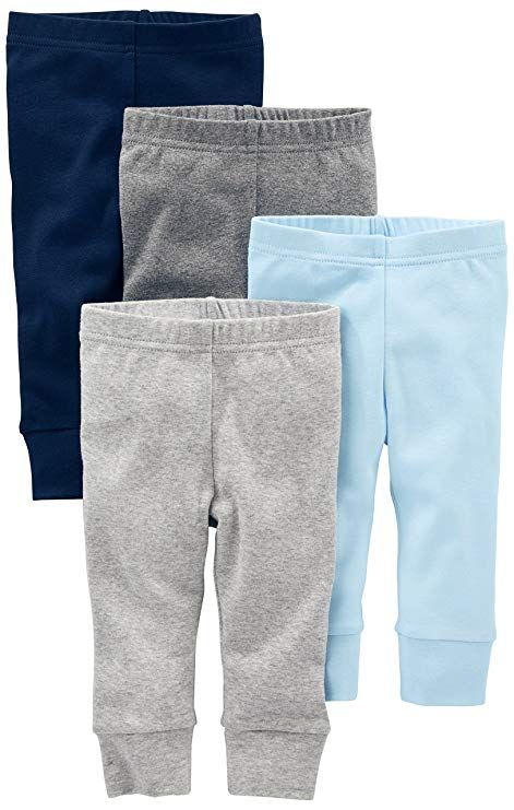 Simple Joys by Carter/'s Baby 4-Pack Pant