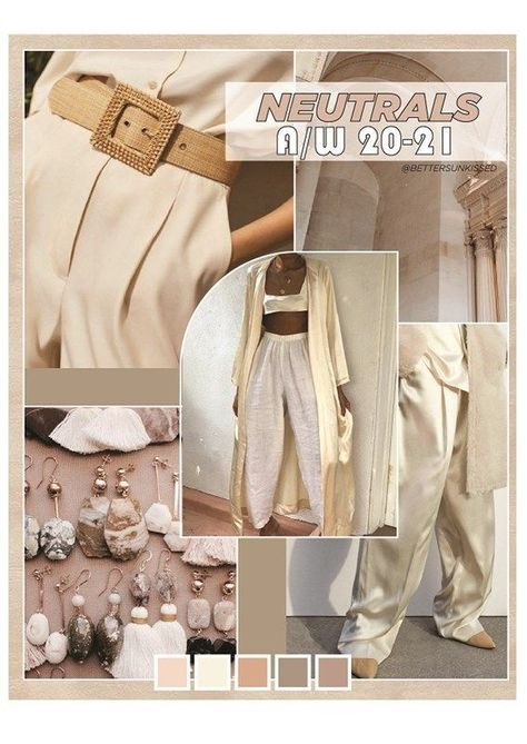 color trend forecast | fahsion forecast | neutrals | trendy | fall/winter 2019 |#Fashion#Trends