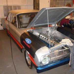 1962 Ford Falcon With Inline Six Motor With Head Made From Two Lsx Heads Ford Falcon Ford Engine Repair