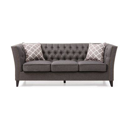 Pleasant Canora Grey Mcgee Chesterfield Sofa In 2019 Products Gamerscity Chair Design For Home Gamerscityorg