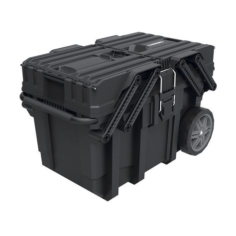 Husky 25 In Cantilever Rolling Tool Box 230380 Rolling Tool Box Tool Box Tool Cart