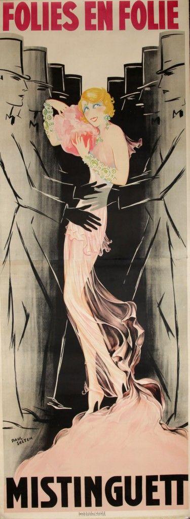 Mistinguett poster: Paul Selten