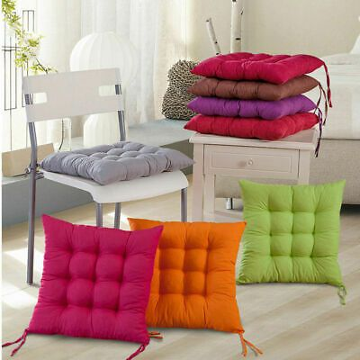 Dining Chair Seat Pad Tie On Cushion For Indoor Office Bedroom Outdoor Garden Fashion Home Garden Homedcor Kitchen Chair Cushions Patio Pillows Chair Pads