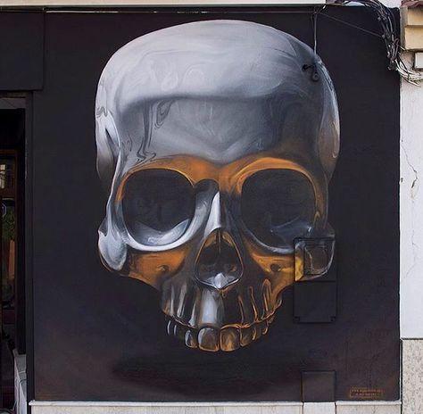 by Man-O-Matic in Vermilion, FR, 11/15 (LP) #streetart