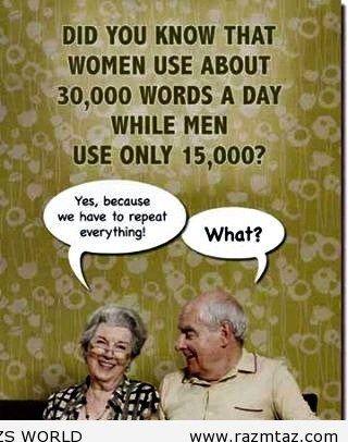 WOMEN VS MEN - http://www.razmtaz.com/women-vs-men/