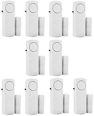 Personal Security Window Door Alarm Bell Wireless Sensor Door Window Burglar Alarm Pack Of 10 Burglar Alarm Door Alarms Security Door