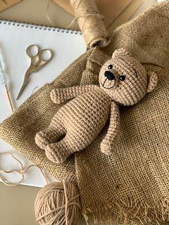 Amigurumitogo.com-Crochet Teddy Bear Youtube Tutorial | Crochet | Yarn | 320x240