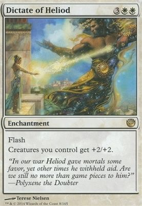 Dictate Of Heliod Journey Into Nyx With Images Magic The
