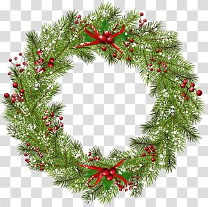 Wreath Christmas Christmas Wreath Green And Red Wreath Transparent Background Png Clipart Christmas Wreaths Christmas Ornament Frame Red Wreath