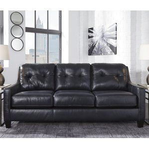 Enjoyable Stouffer Leather Sleeper Sofa By Red Barrel Studio Onsale Pdpeps Interior Chair Design Pdpepsorg