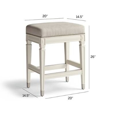 Wexford Rectangular Backless Counter Stool 26 Counter Stools Backless Counter Height Bar Stools Counter Stools