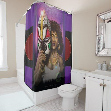 Unmasking Black Love Shower Curtain Zazzle Com With Images
