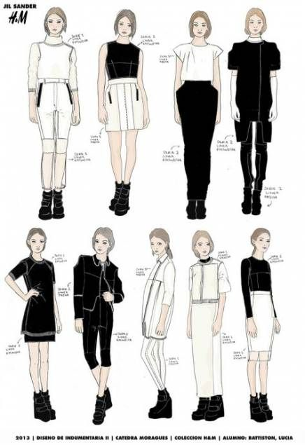 59+ Best Ideas For Fashion Sketches Sketchbooks Behance
